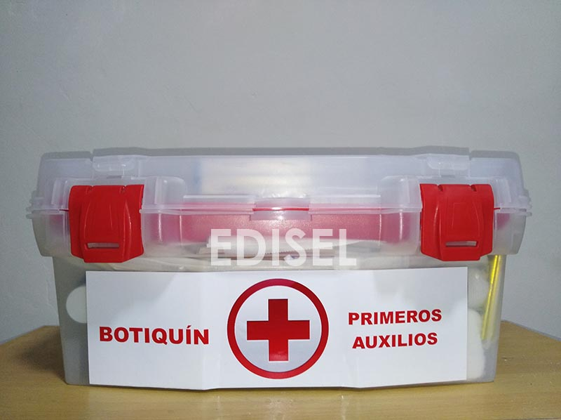 tipos de botiquin de primeros auxilios peru